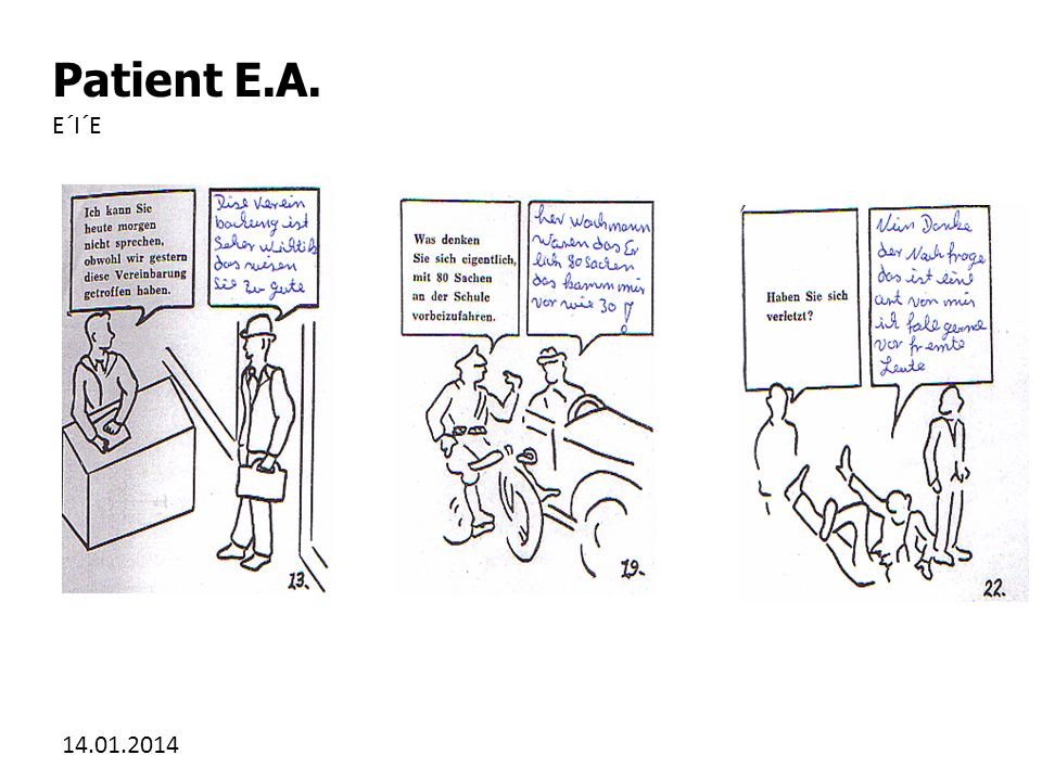 Patient E.A. E´I´E 27.03.2017