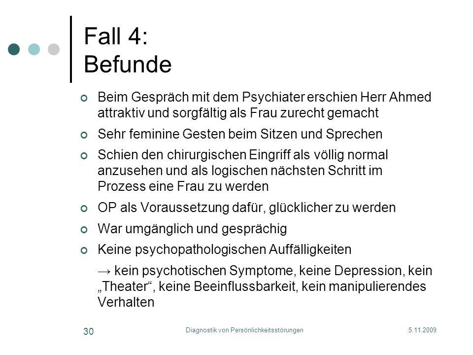 Diagnostik von Persönlichkeitsstörungen