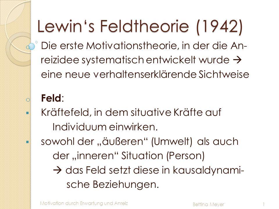 Lewin's Feldtheorie (1942)