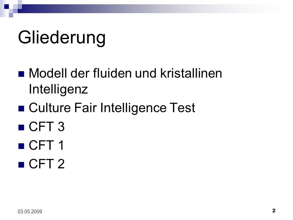 Culture fair intelligence test 1 Homework Example