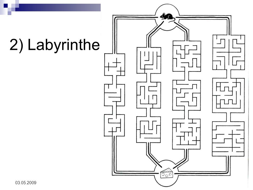 2) Labyrinthe