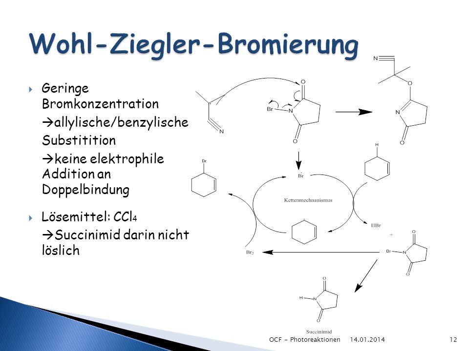 Wohl-Ziegler-Bromierung