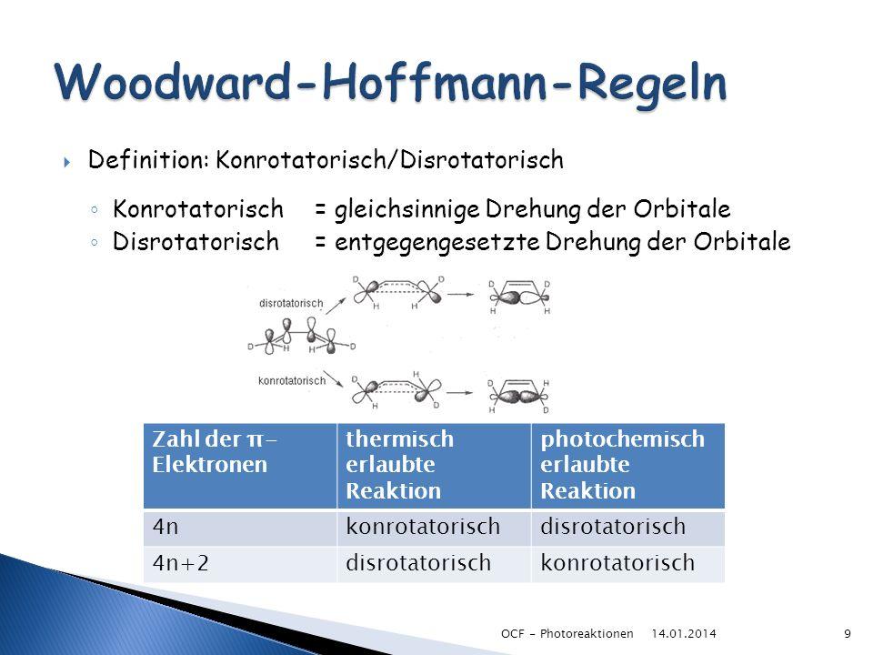 Woodward-Hoffmann-Regeln