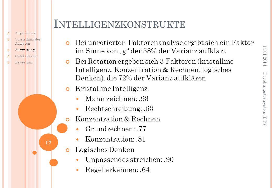 Intelligenzkonstrukte