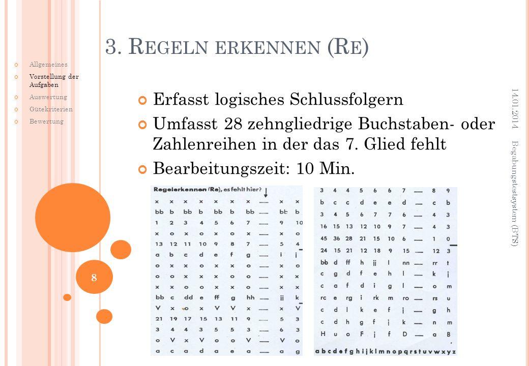 3. Regeln erkennen (Re) Erfasst logisches Schlussfolgern
