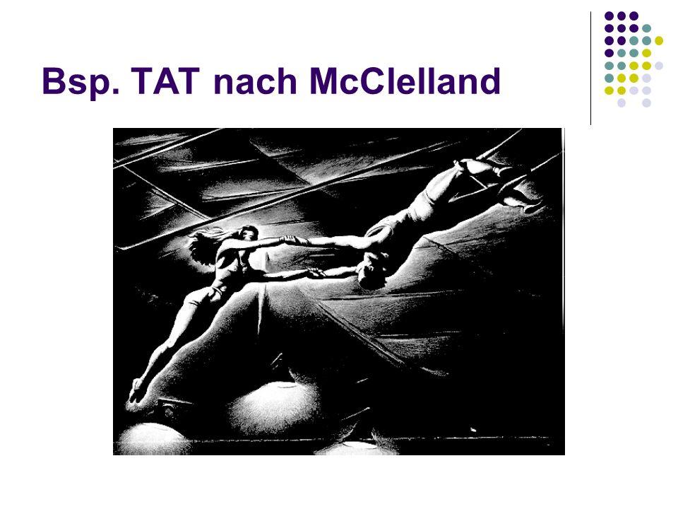Bsp. TAT nach McClelland
