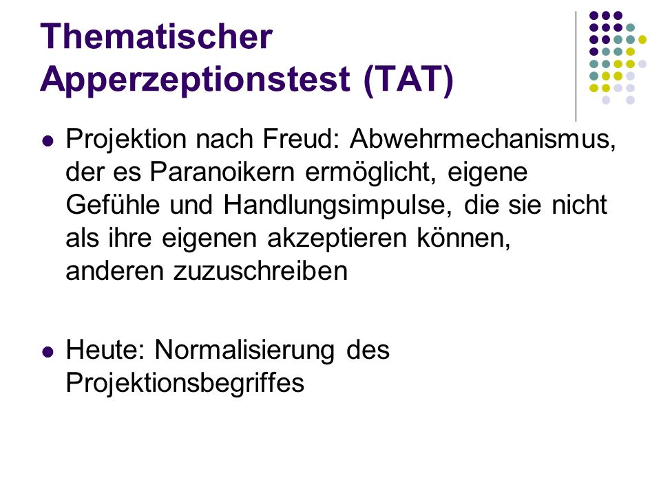 Thematischer Apperzeptionstest (TAT)