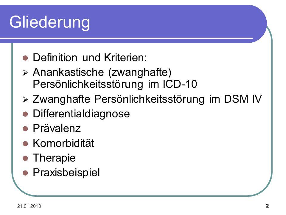 Gliederung Definition und Kriterien:
