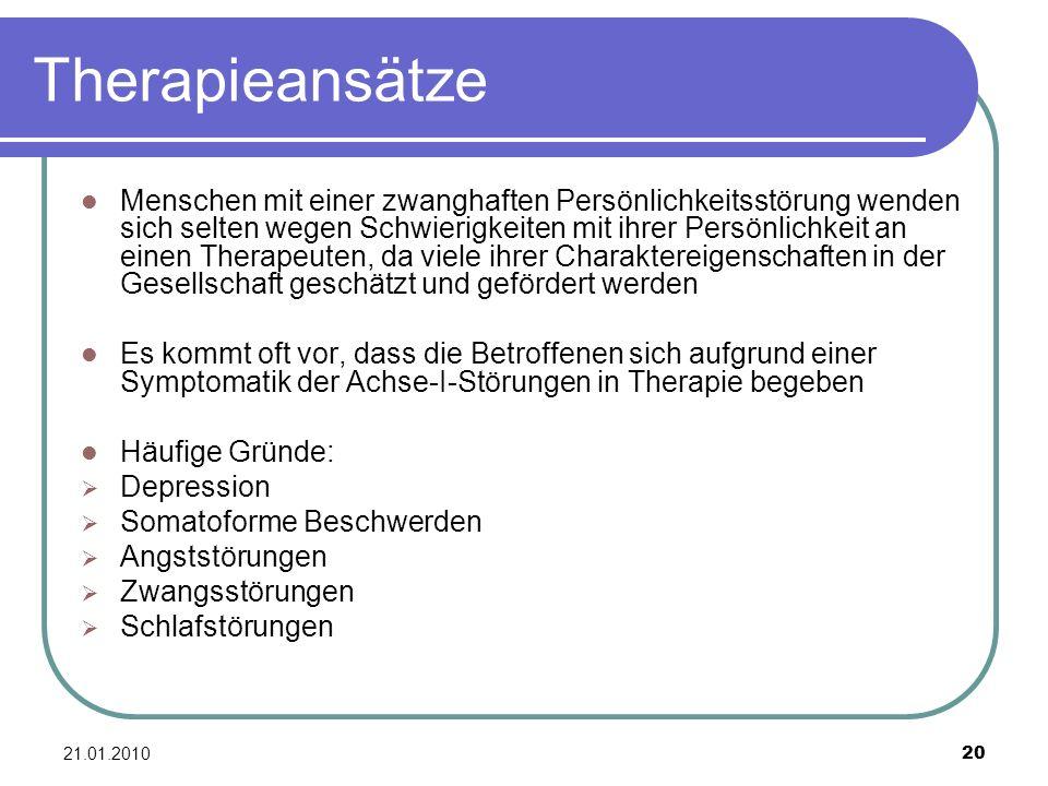 Therapieansätze