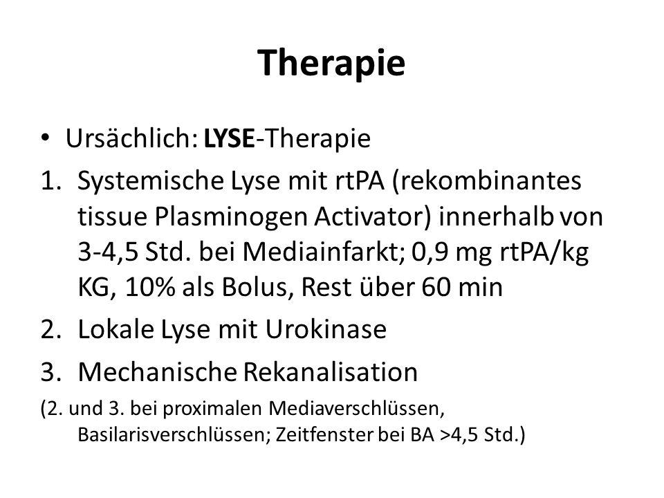 Therapie Ursächlich: LYSE-Therapie
