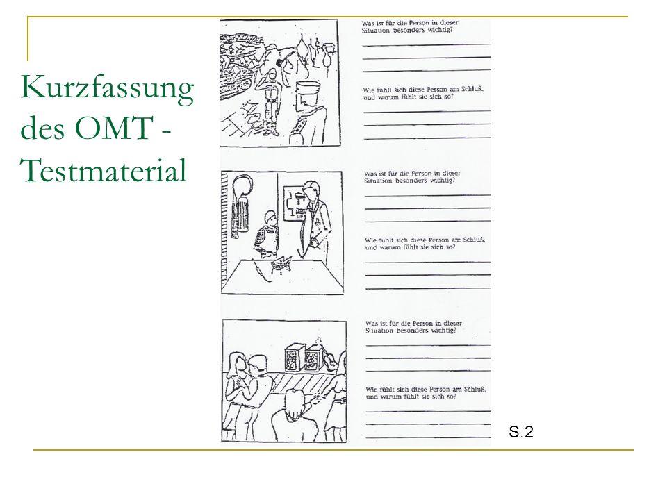Kurzfassung des OMT -Testmaterial