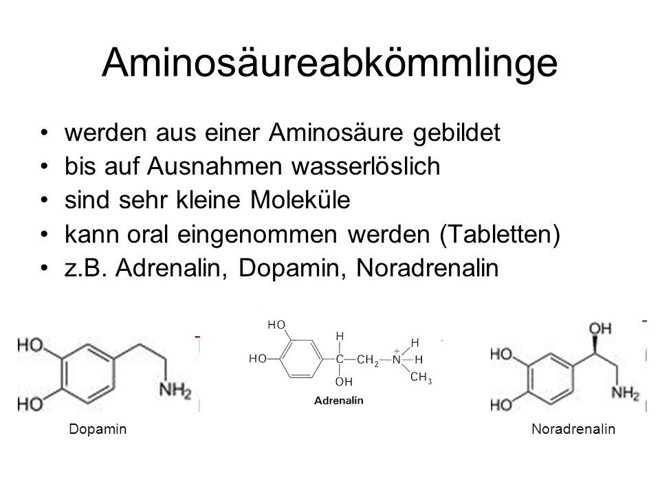 Aminosäureabkömmlinge