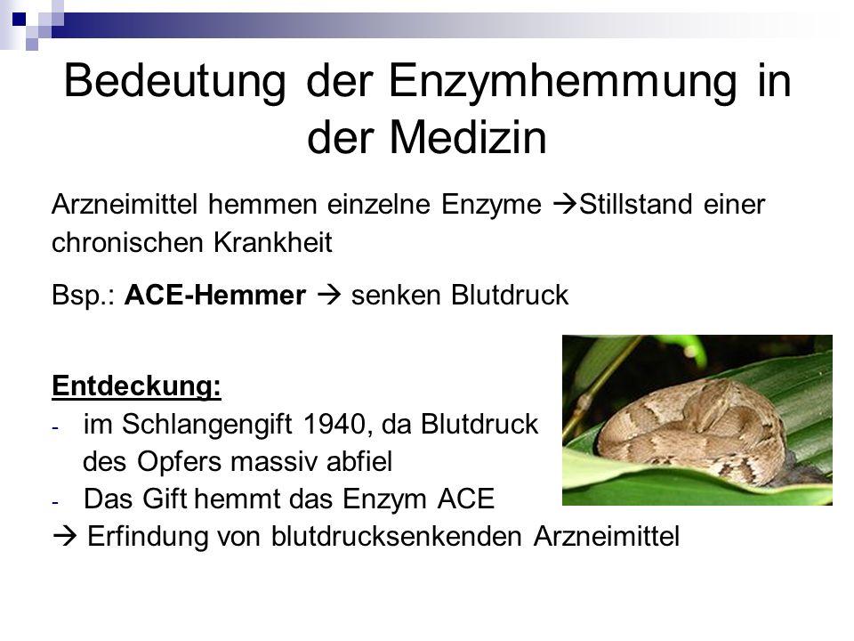 Bedeutung der Enzymhemmung in der Medizin