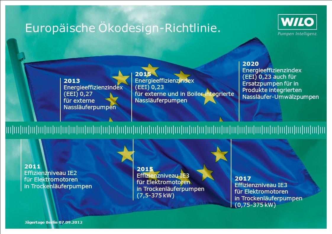 Europäische Ökodesign-Richtlinie.