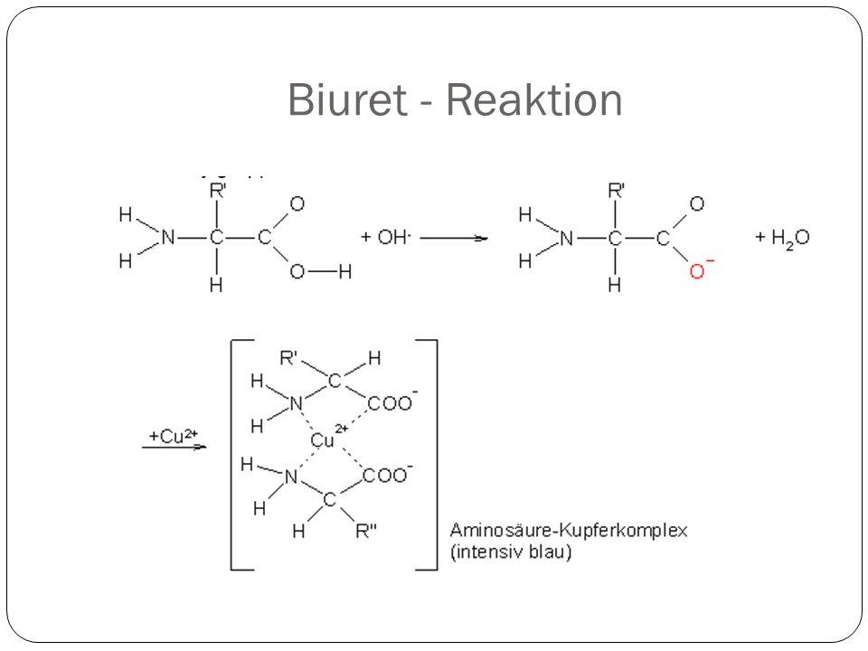 Biuret - Reaktion