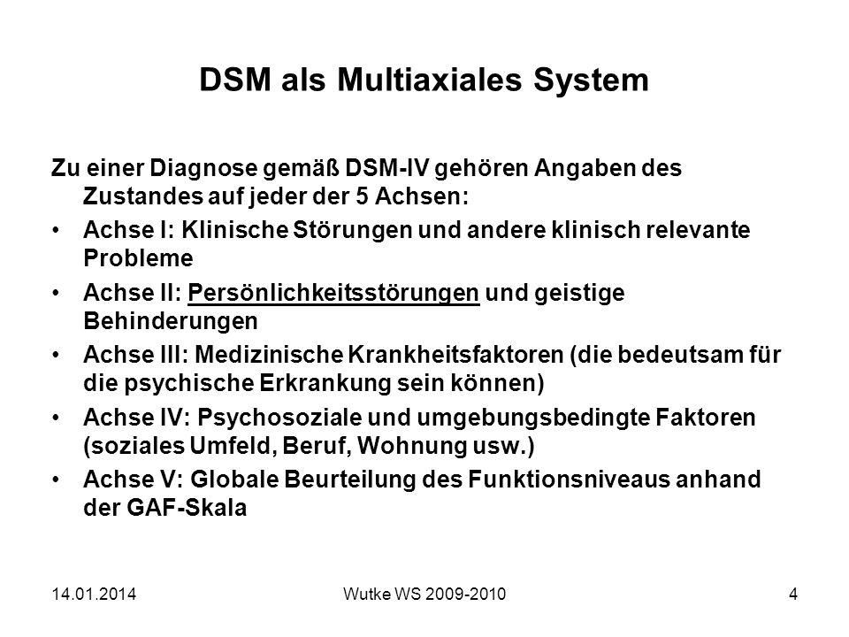 DSM als Multiaxiales System