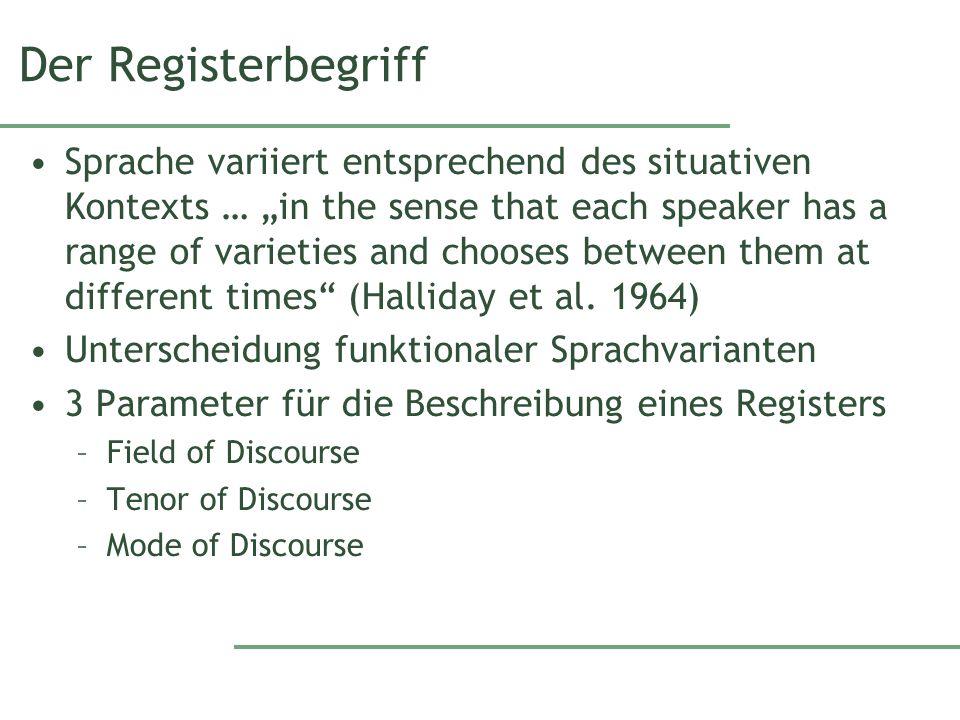 Der Registerbegriff