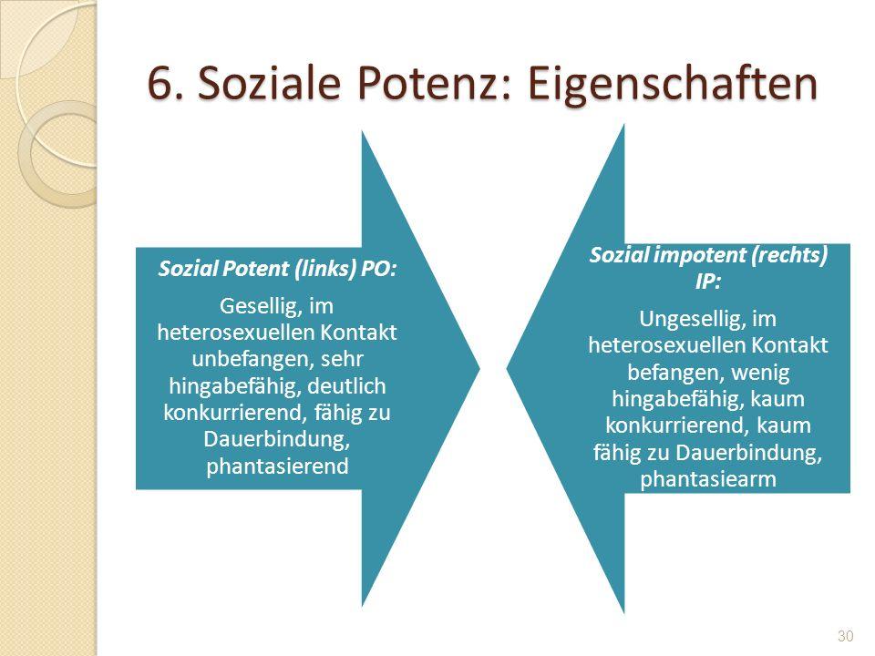 6. Soziale Potenz: Eigenschaften