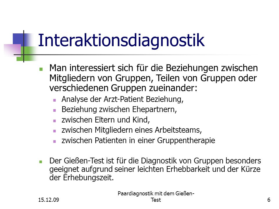 Paardiagnostik mit dem Gießen-Test