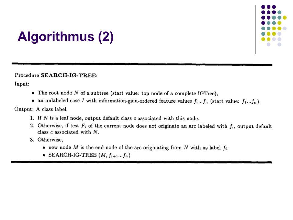 Algorithmus (2)