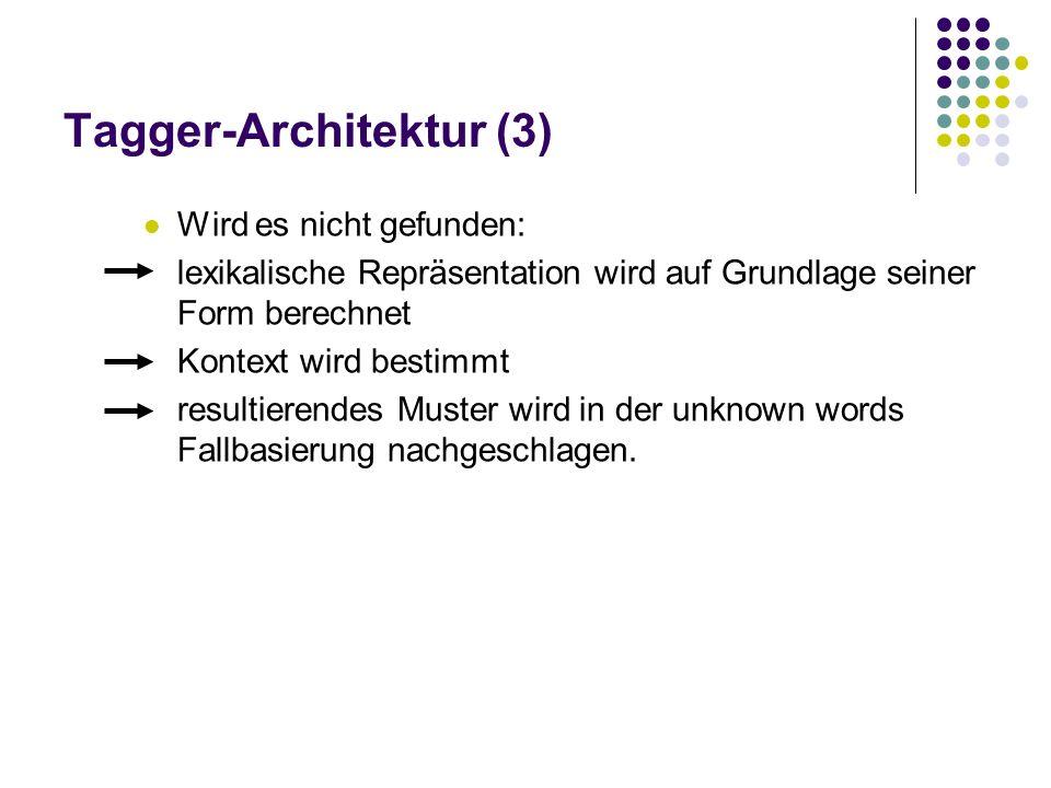 Tagger-Architektur (3)