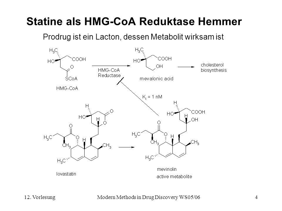 Statine als HMG-CoA Reduktase Hemmer