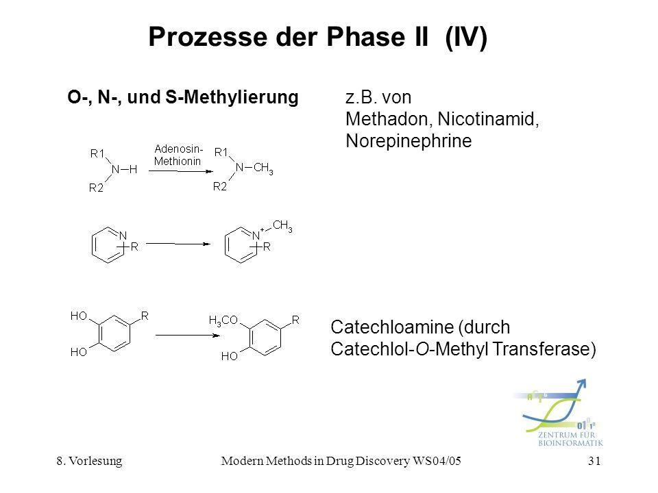 Prozesse der Phase II (IV)