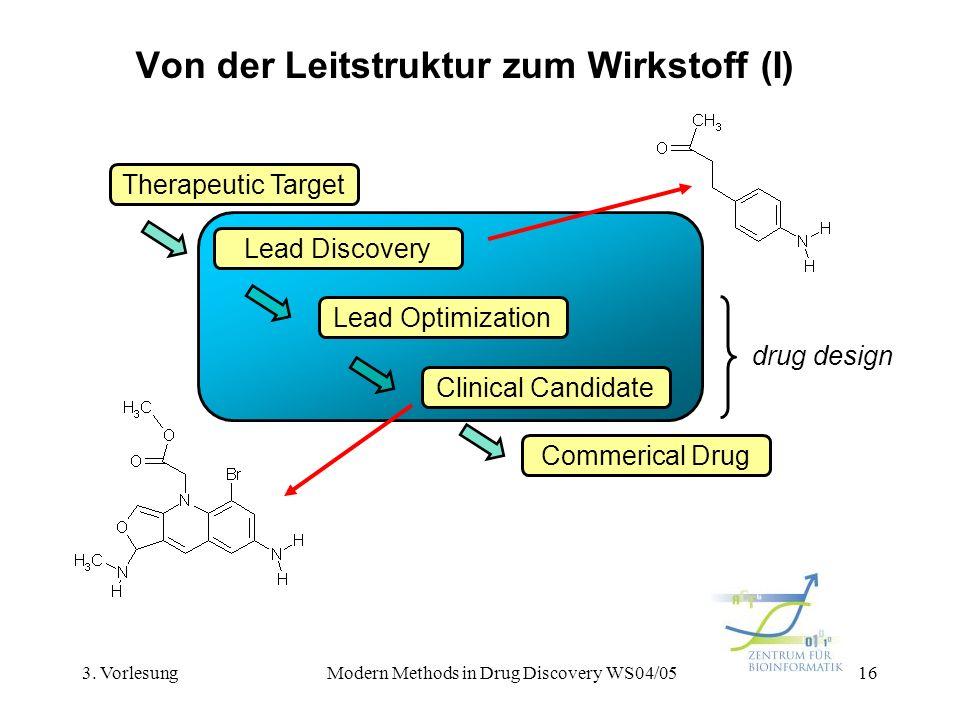 Von der Leitstruktur zum Wirkstoff (I)