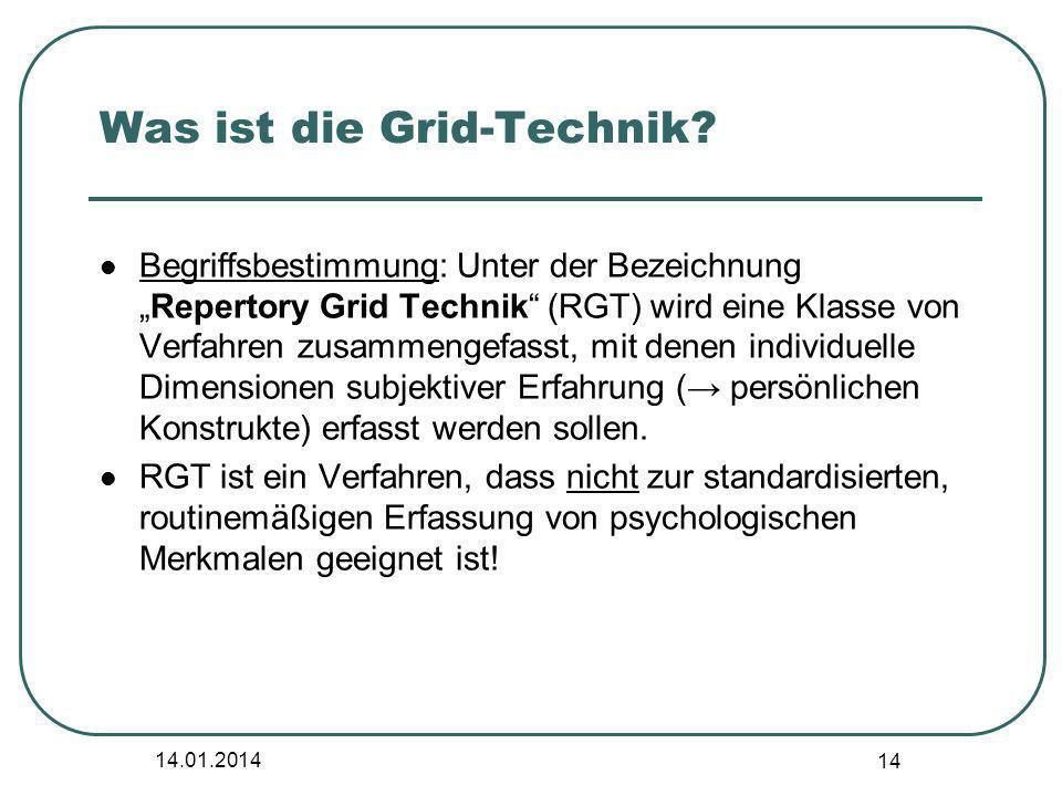 Was ist die Grid-Technik