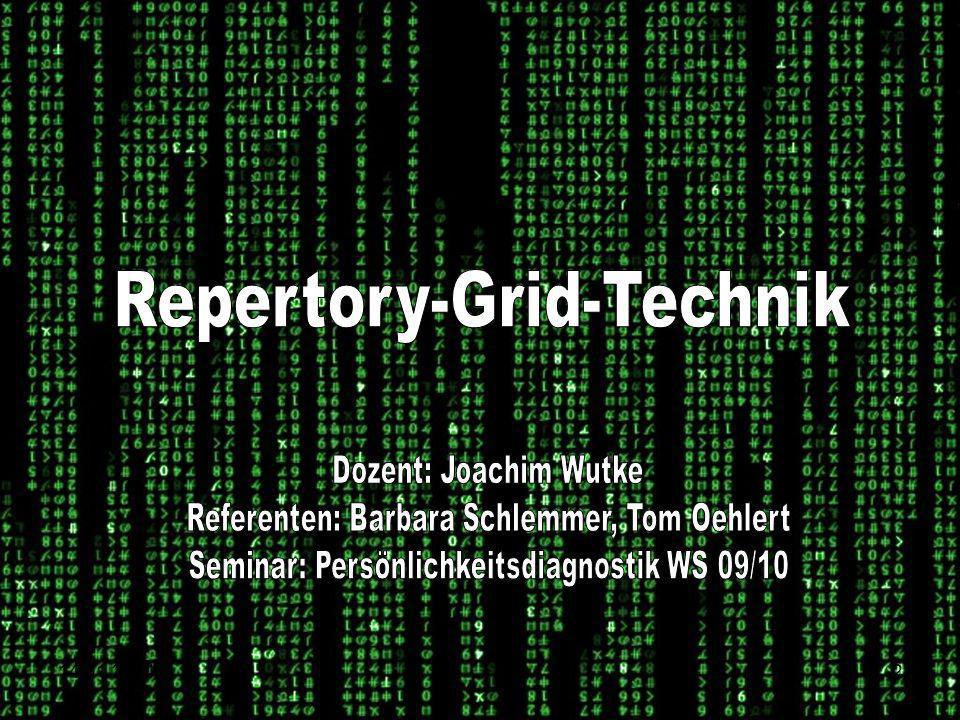 Repertory-Grid-Technik