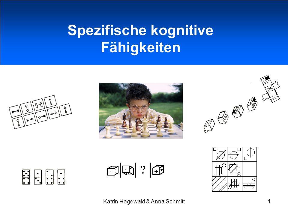 Spezifische kognitive Fähigkeiten