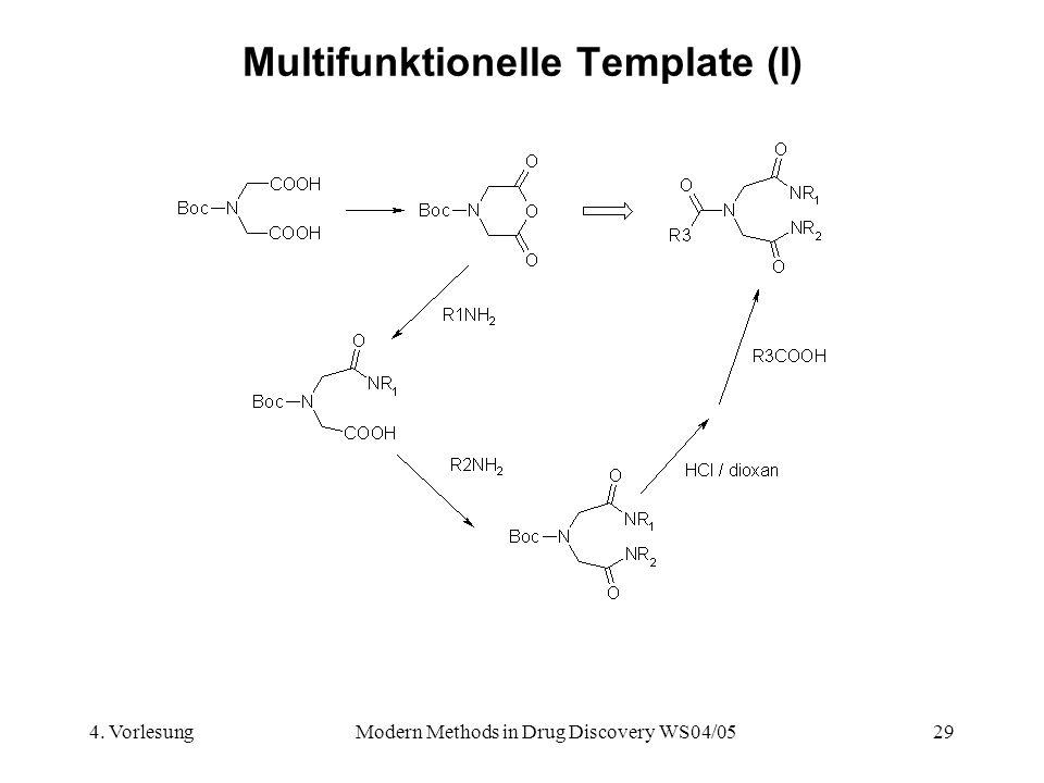 Multifunktionelle Template (I)