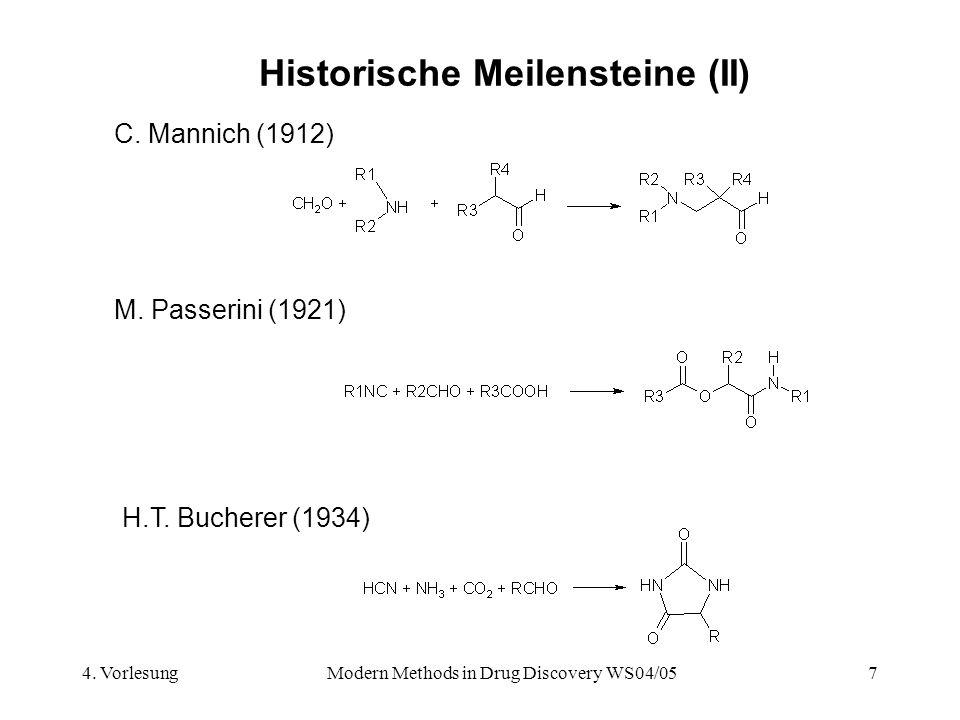 Historische Meilensteine (II)