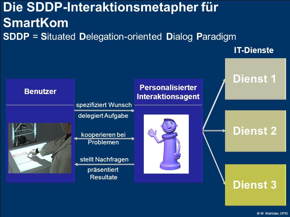 Die SDDP-Interaktionsmetapher für SmartKom