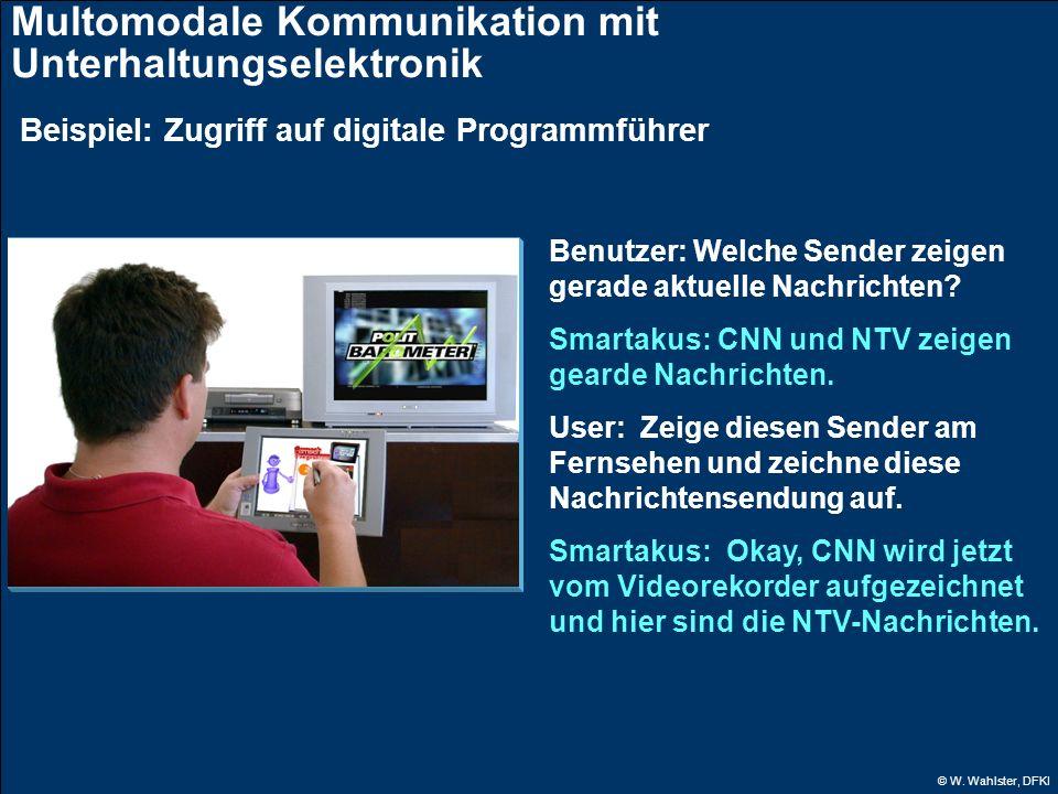 Multomodale Kommunikation mit Unterhaltungselektronik