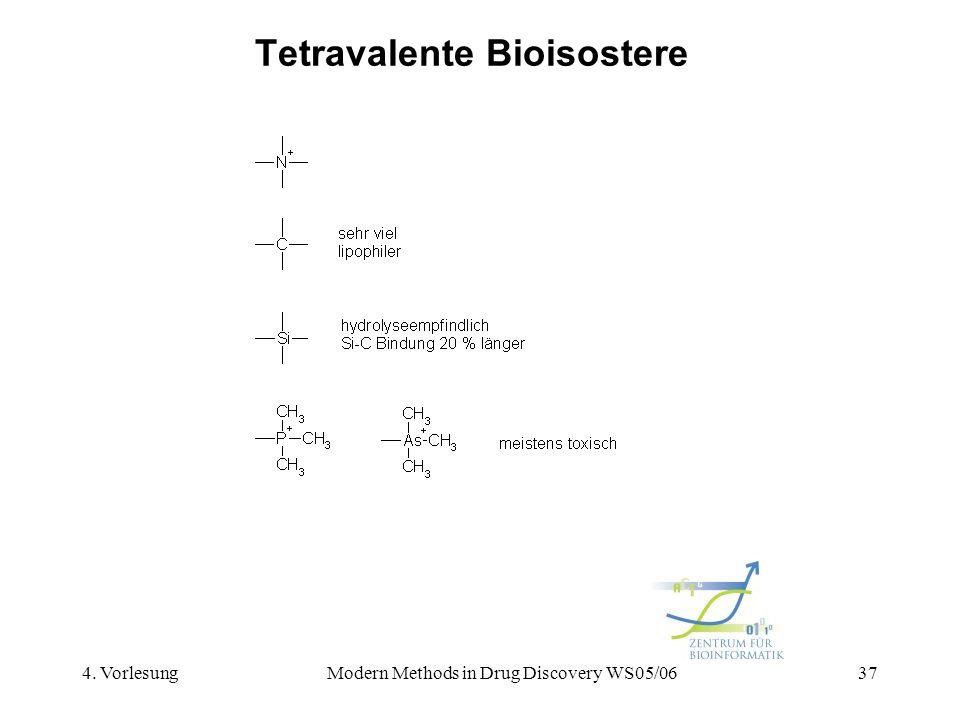 Tetravalente Bioisostere