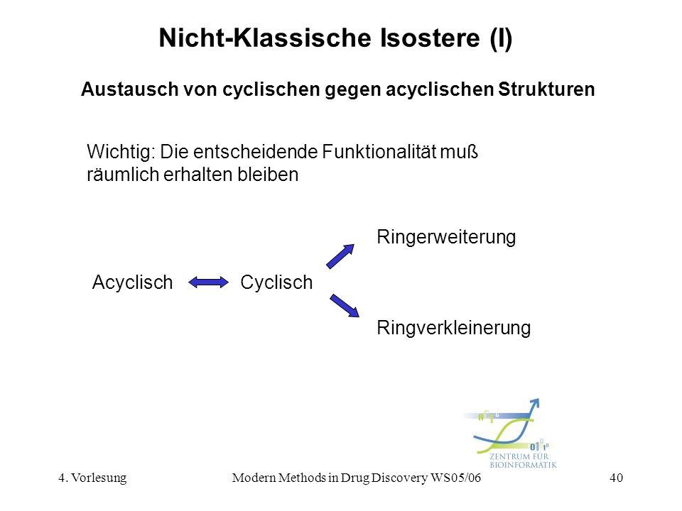 Nicht-Klassische Isostere (I)