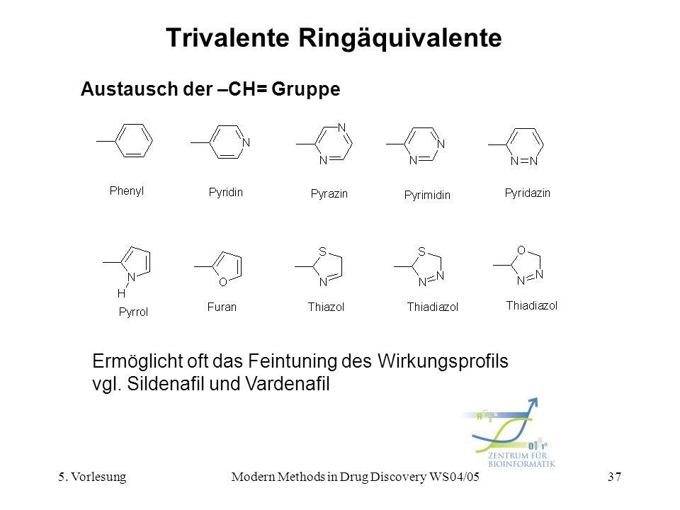 Trivalente Ringäquivalente