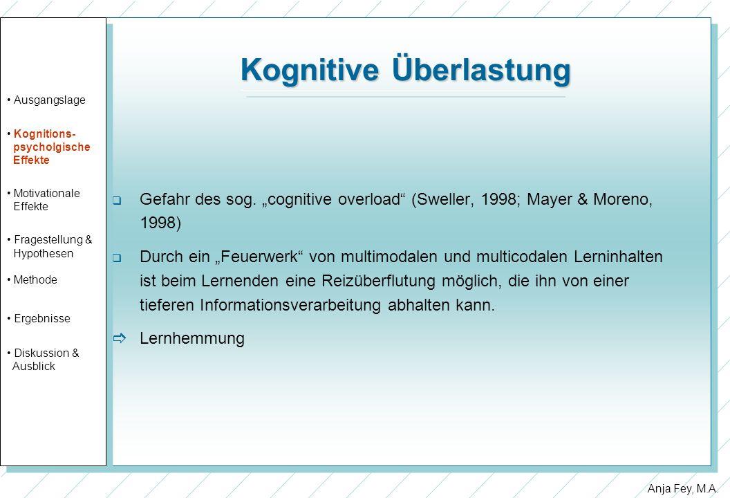 Kognitive Überlastung