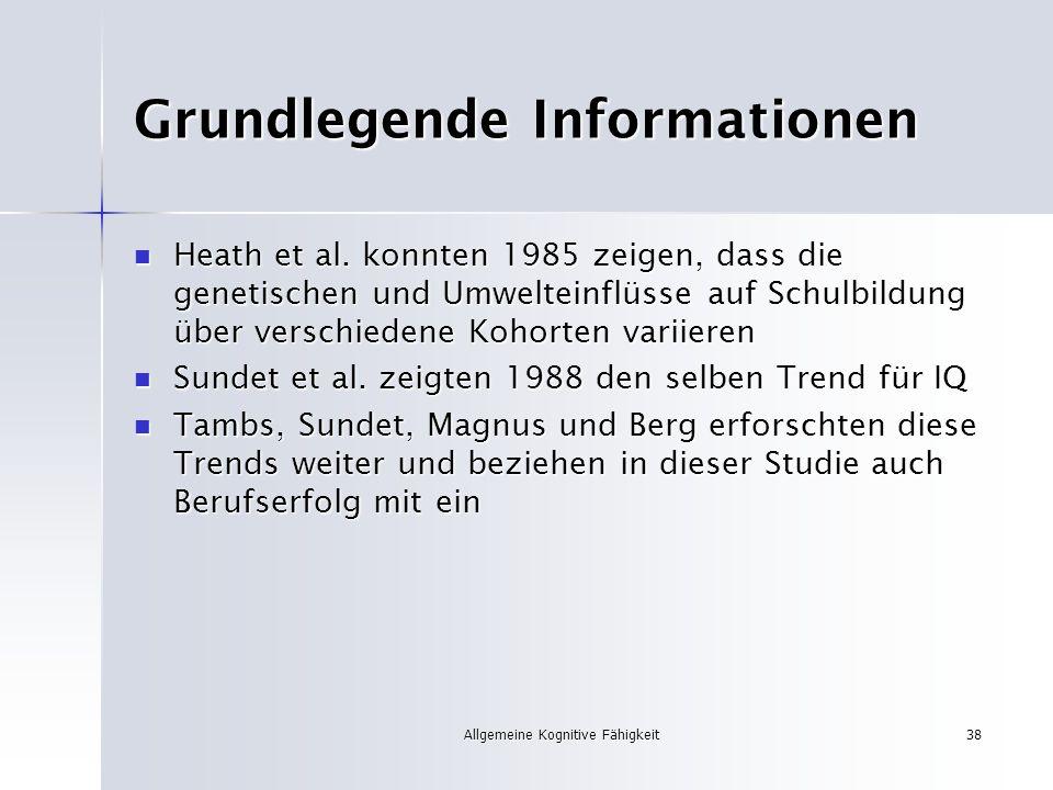 Grundlegende Informationen