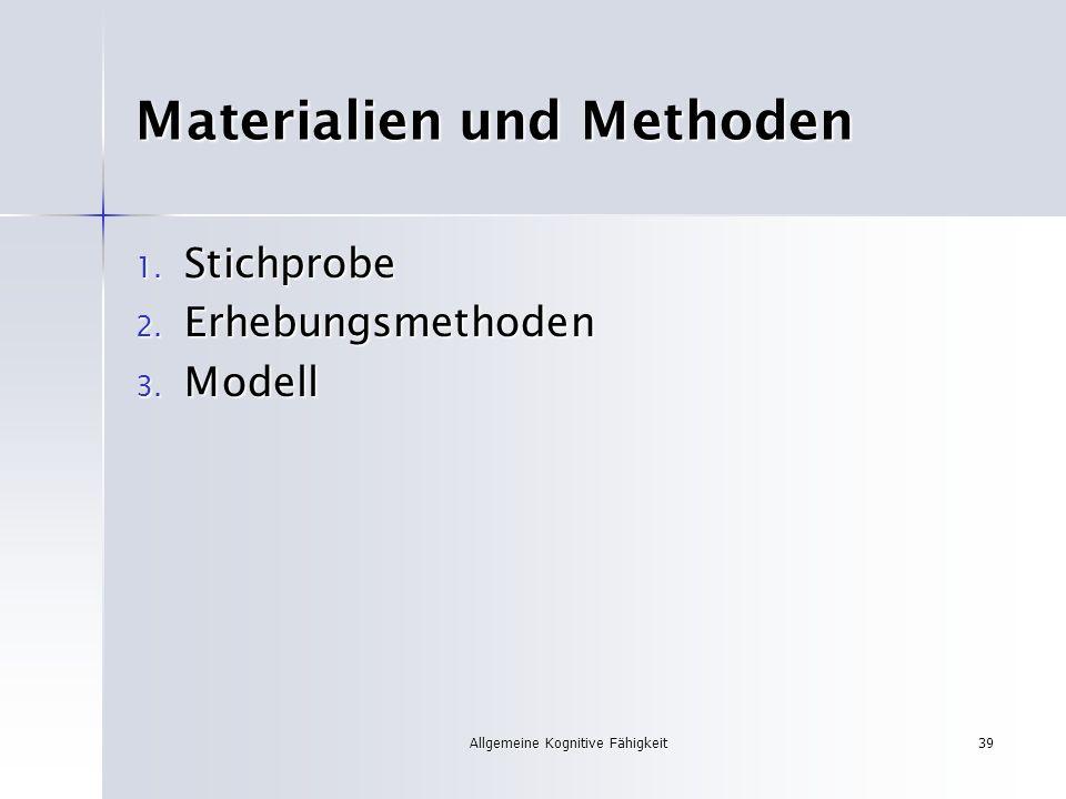 Materialien und Methoden