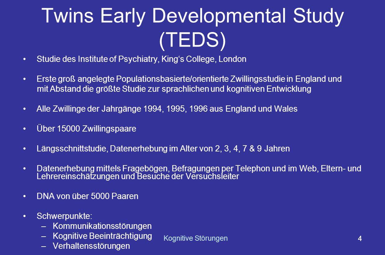 Twins Early Developmental Study (TEDS)