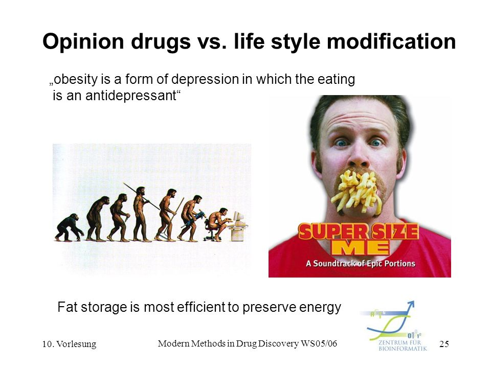 Opinion drugs vs. life style modification
