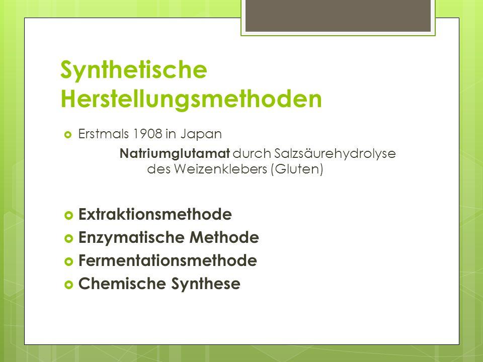 Synthetische Herstellungsmethoden