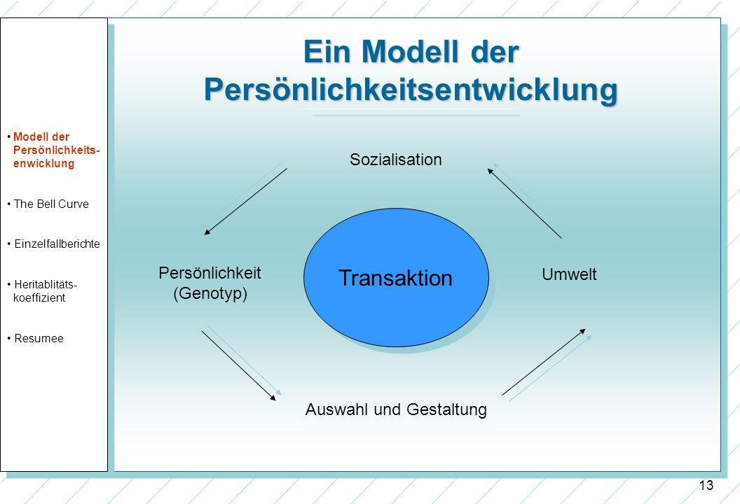Ein Modell der Persönlichkeitsentwicklung