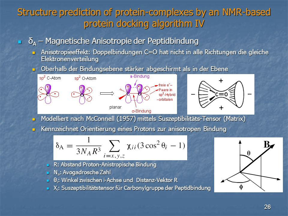 Structure prediction of protein-complexes by an NMR-based protein docking algorithm IV