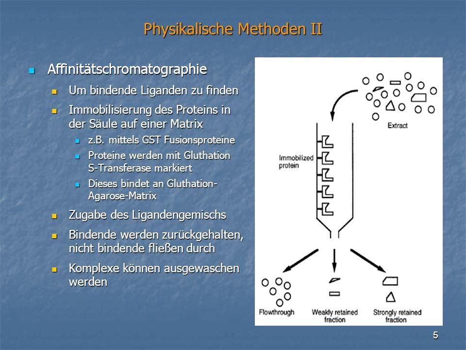 Physikalische Methoden II