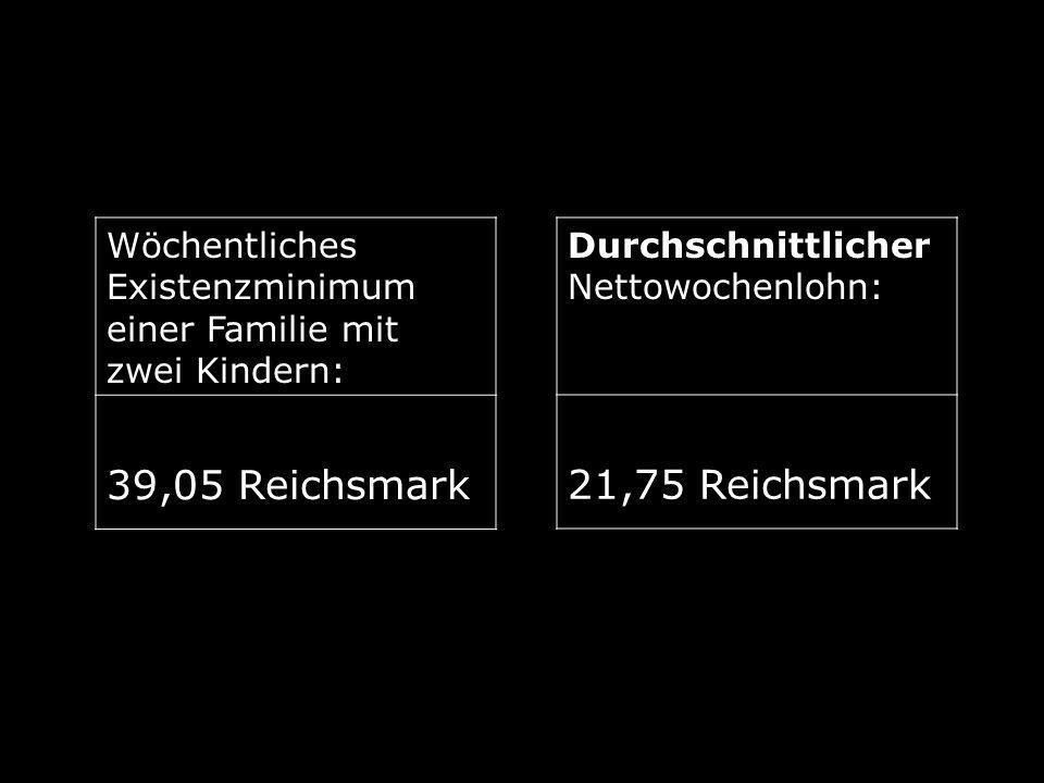 39,05 Reichsmark 21,75 Reichsmark