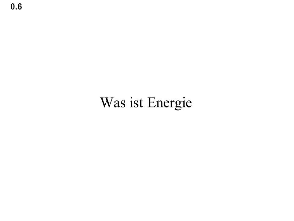 0.6 Was ist Energie