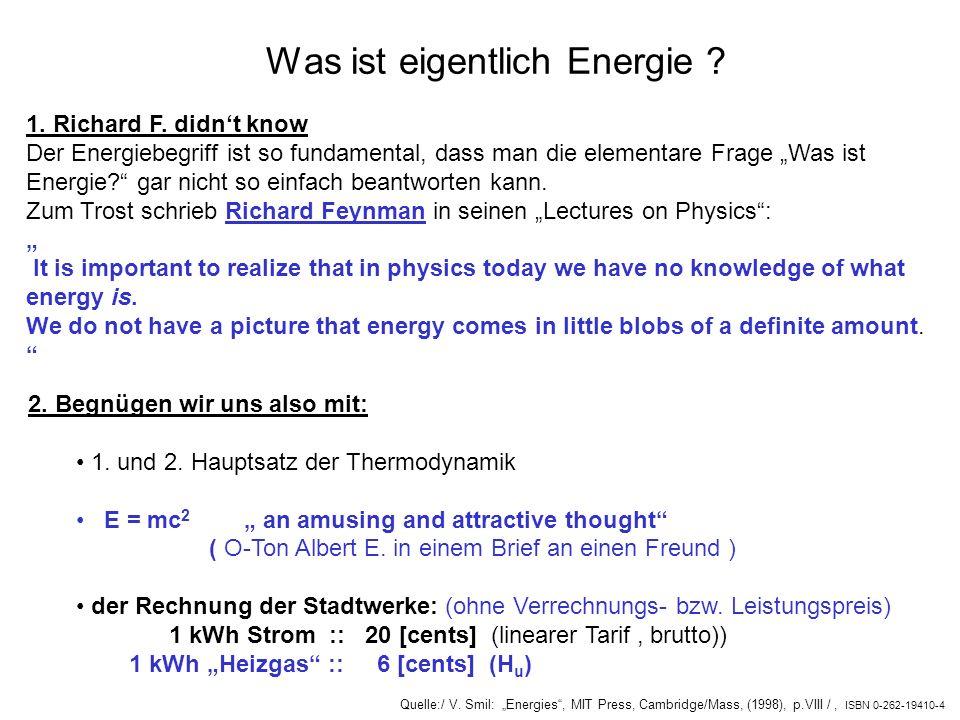Was ist eigentlich Energie
